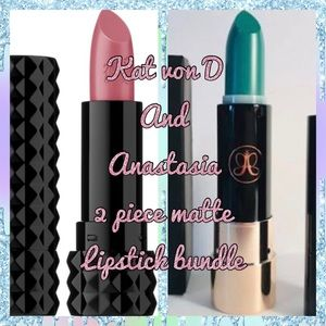 💄ANASTASIA + KAT VON D LIPSTICK BUNDLE OF TWO